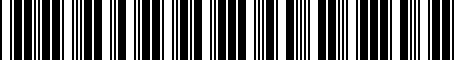 Barcode for PT21235075